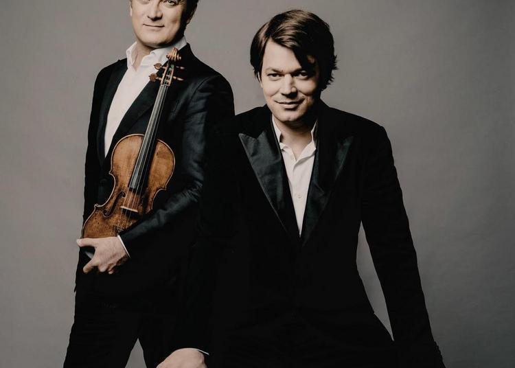 David Fray et Renaud Capuçon à Toulouse