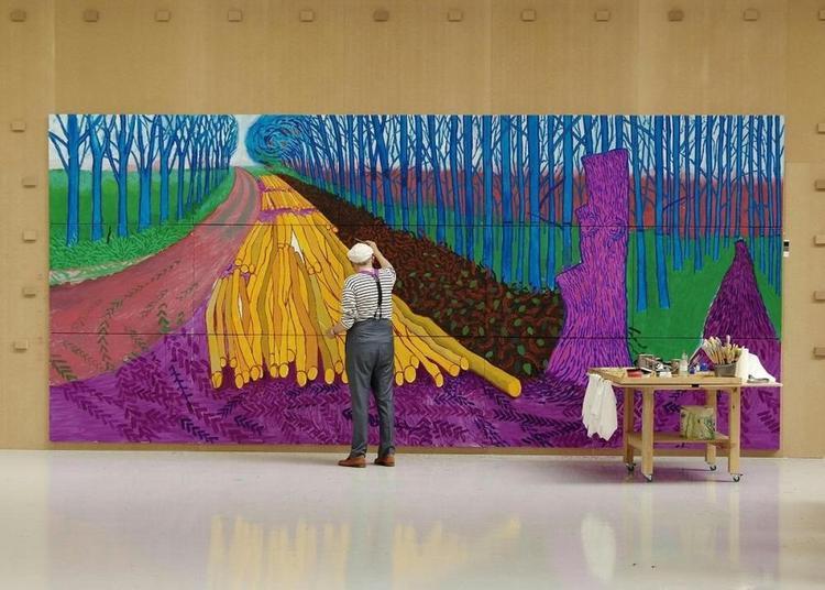 David Hockney à la Royal Académie of Arts à Decines Charpieu
