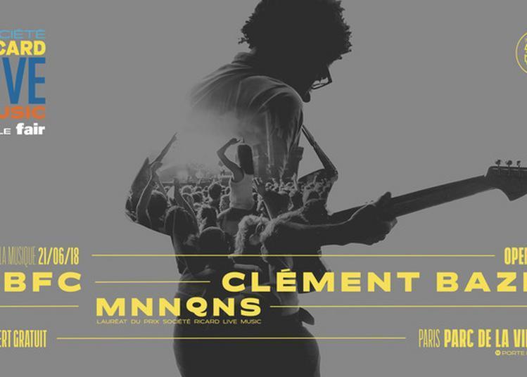Dbfc - Clément Bazin - Mnnqns /////  Société Ricard Live Music & Le Fair à Paris 19ème