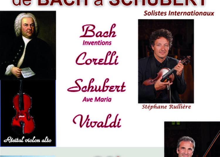 De Bach à Schubert à Yerres