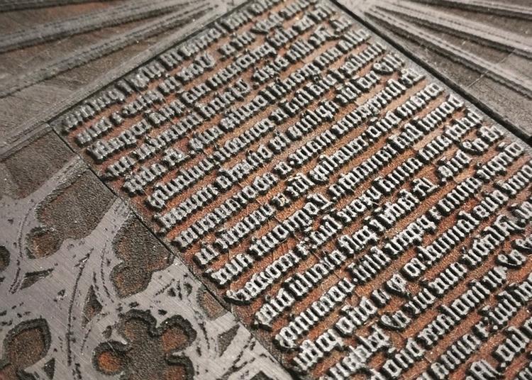 De Gutenberg à Helvetica à Saint Louis