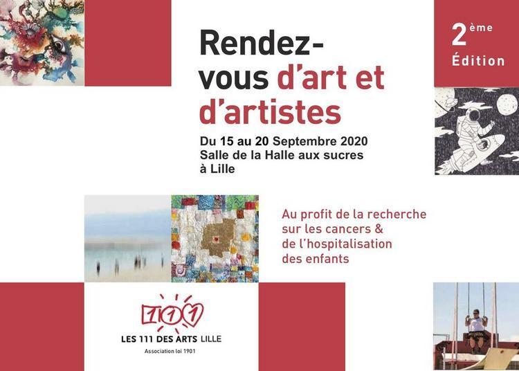 De l'Art pour lutter contre les cancers pédiatriques ! à Lille