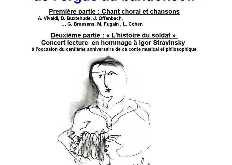 De l'orgue au bandonéon à Paris 13ème