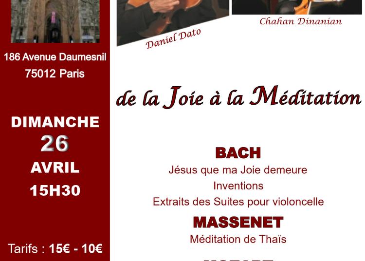 De la Joie à la Méditation à Paris 12ème