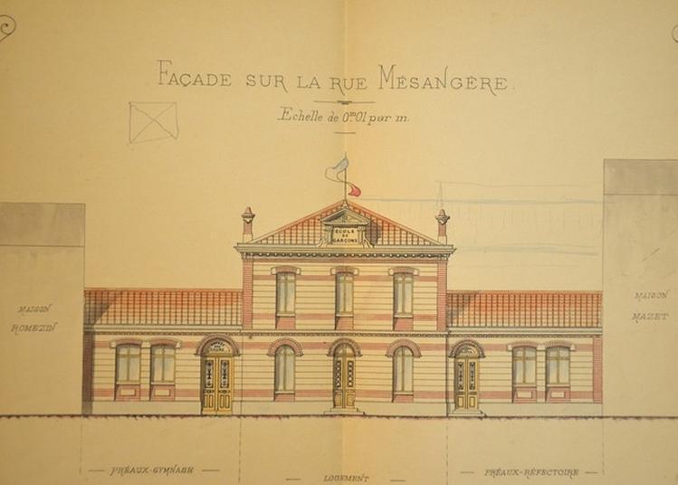 De Pergaud À Mésangère, Circuit Des Écoles Du Centre-ville De Valence