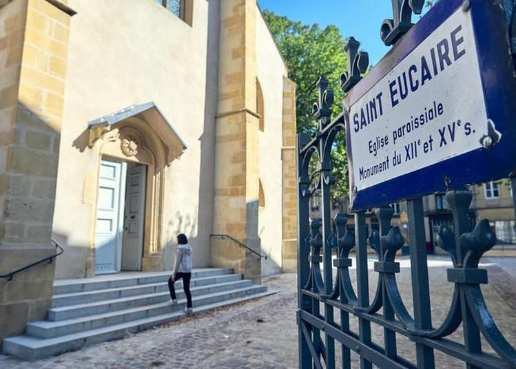De Son Clocher Roman à Ses Chapelles Gothiques, Venez Découvrir Cette église à Metz