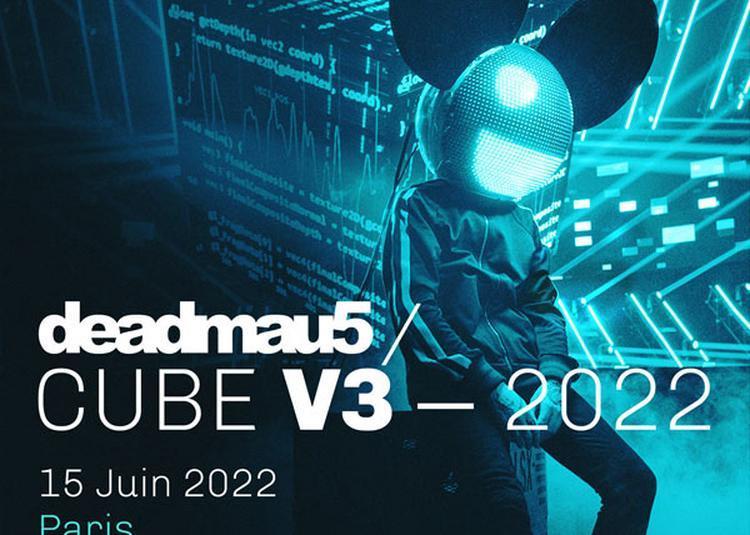 Deadmau5 Cube V3.0 à Paris 19ème