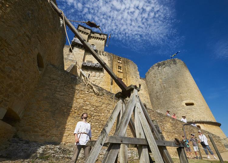 Découverte Commentée Du Château Et Tir Au Trébuchet à Castelnaud la Chapelle