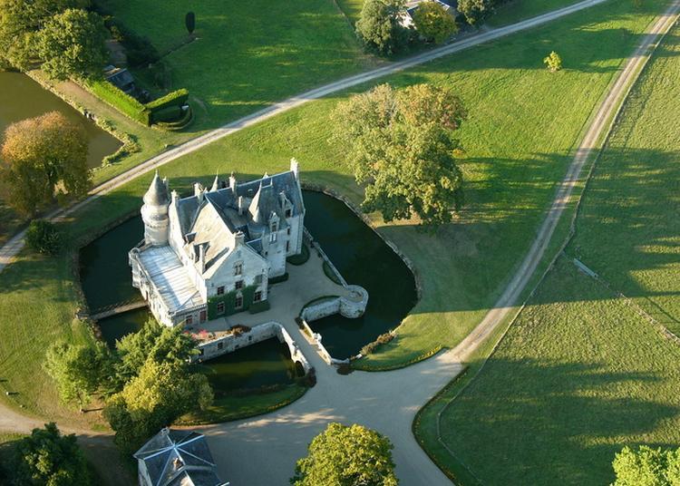 Découverte D'un Bel Exemple De Parc Agricole Paysager à L'anglaise à Saint Aubin le Cloud