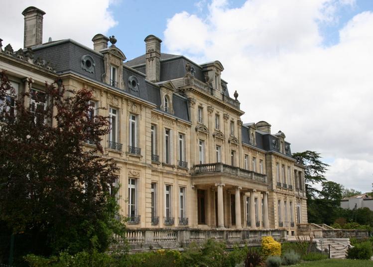 Découverte D'un Château Du Xixe Siècle Et De Son Parc à Merignac