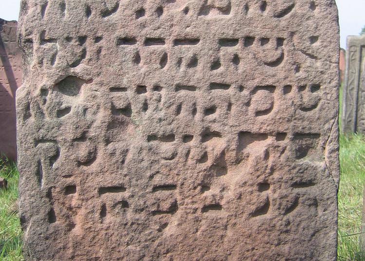 Découverte D'un Cimetière Juif à Haguenau