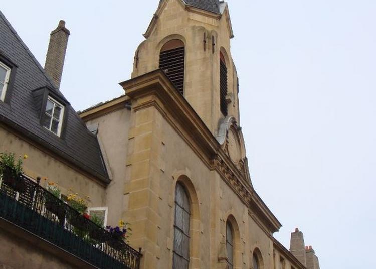 Découverte D'un Édifice À Destination Du Culte Luthérien Datant De La Fin Du Xixe à Metz