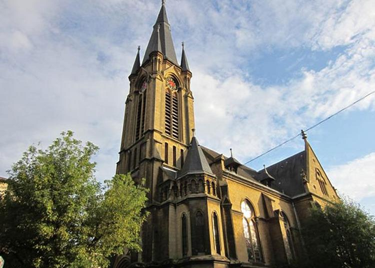Découverte D'un Temple Néo-gothique De 1894 à Montigny les Metz
