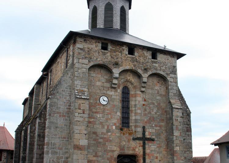 Découverte D'une Des Plus Anciennes églises Fortifiées Du Département à Saint Germain les Belles