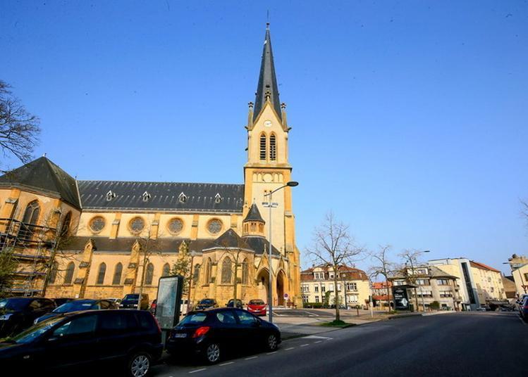 Découverte D'une église Du XXe Siècle, Témoin De L'histoire Locale à Metz