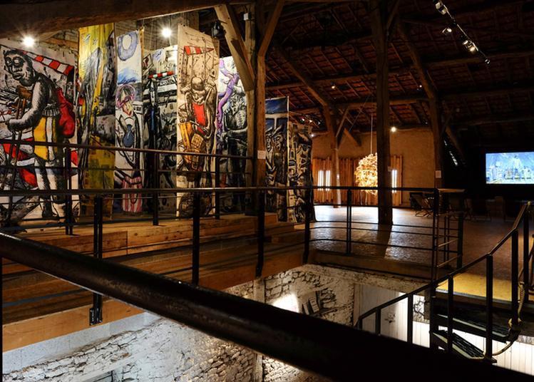 Découverte D'une Exposition D'art Contemporain Dans Un Espace Inédit ! à Goviller