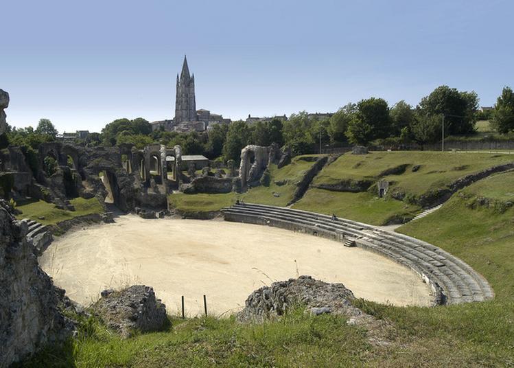 Découverte De L'amphithéâtre Gallo-romain à Saintes