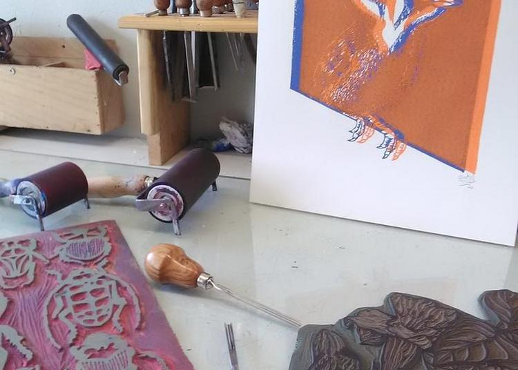 Découverte De L'art De La Linogravure à Grandris