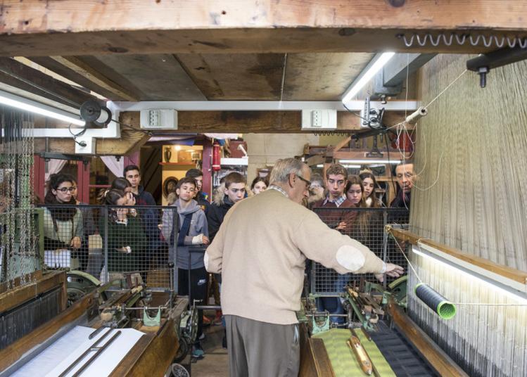 Découverte De L'atelier Municipal De Tissage. à Lyon