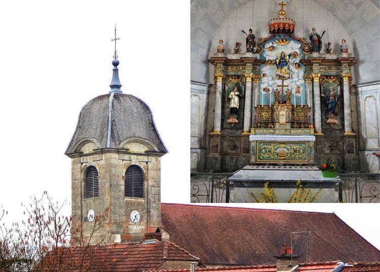 Découverte De L'église De L'assomption À Fouvent-saint-andoche à Fouvent saint Andoche