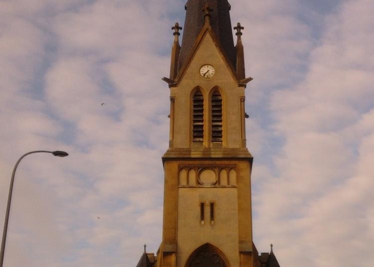 Découverte De L'église Néo-gothique Du Début Du Xxe Siècle Du Quartier Du Sablon à Metz