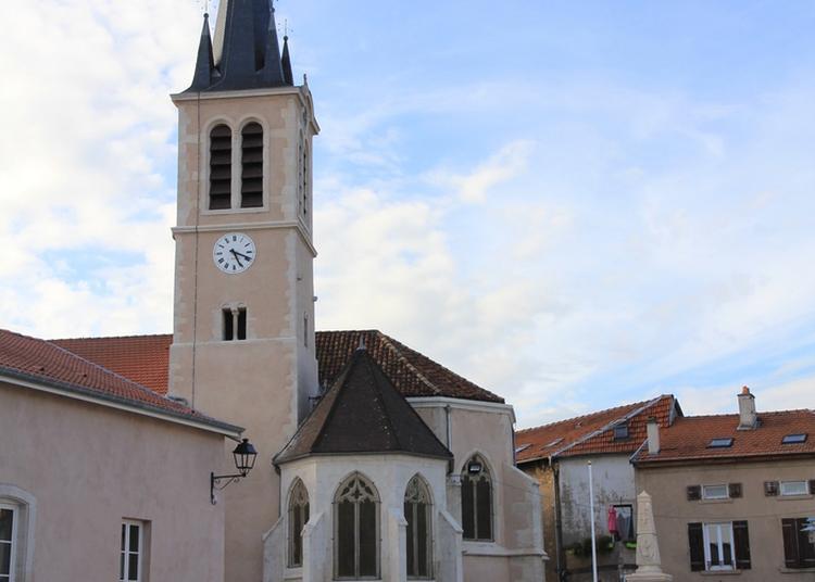 Découverte De L'église Saint-léger à Custines