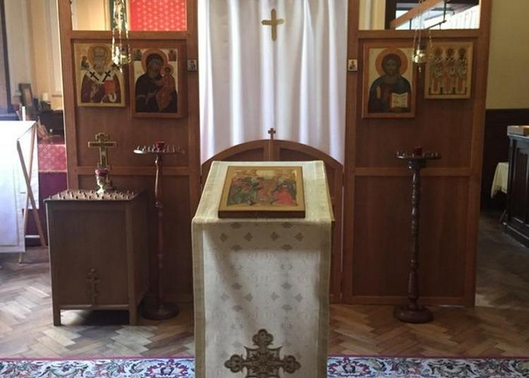 Découverte De L'espace Aménagé Pour Le Culte Orthodoxe Et De Son Mobilier à Metz