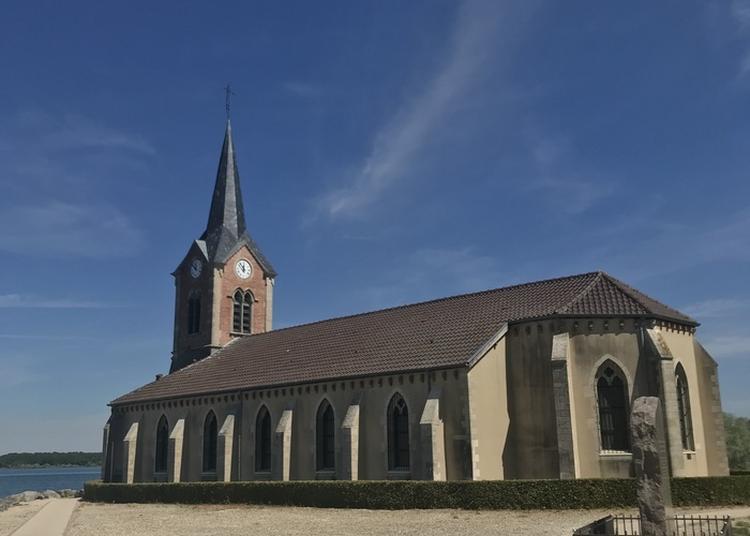 Découverte De L'exposition De L'artiste Plasticienne Canb à L'église à Giffaumont Champaubert