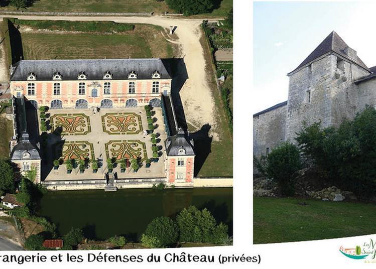 Découverte De L'orangerie Et Des Défenses Avancées à La Mothe saint Heray