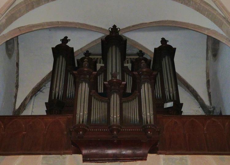 Découverte De L'orgue De L'église De Baume-les-dames à Baume les Dames