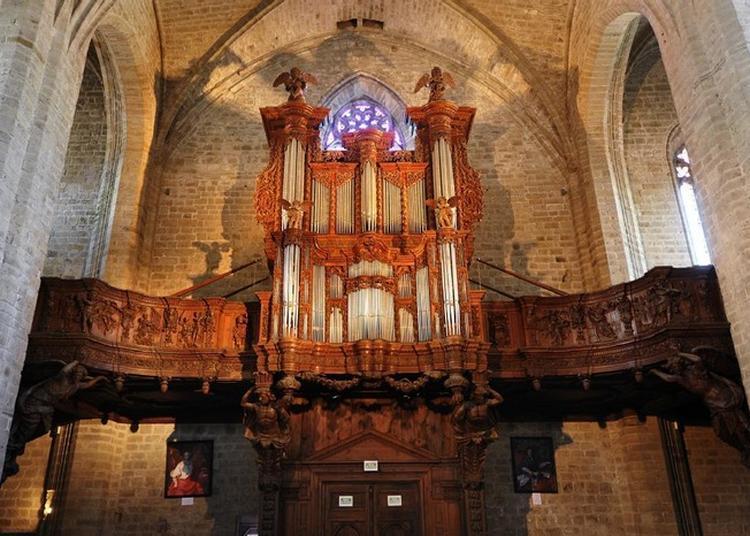 Découverte De L'orgue De La Chaise-dieu. à La Chaise Dieu