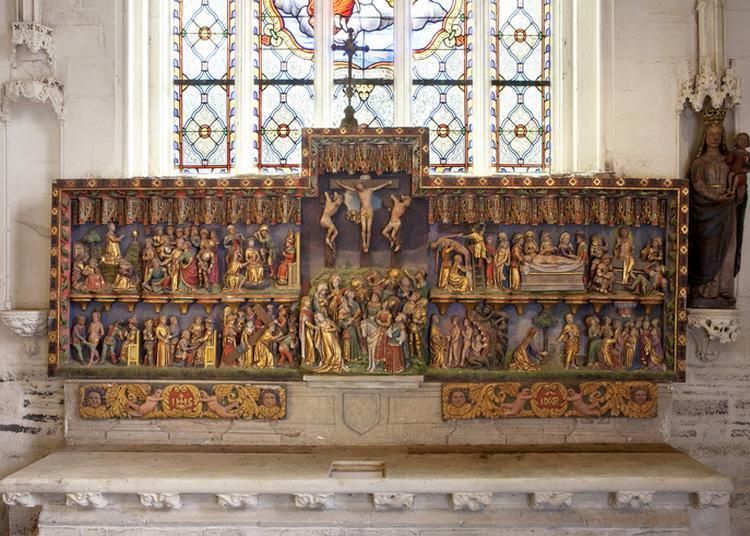 Découverte De La Chapelle Notre-dame De La Houssaye à Pontivy