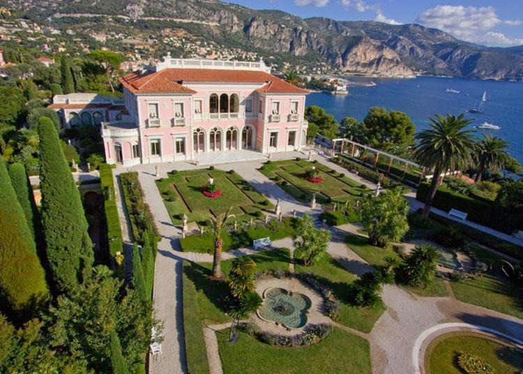 Découverte De La Villa Ephrussi De Rothschild Et Ses Jardins à Saint Jean Cap Ferrat