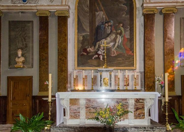 Découverte Des Décors Restaurés De L'église De Merville