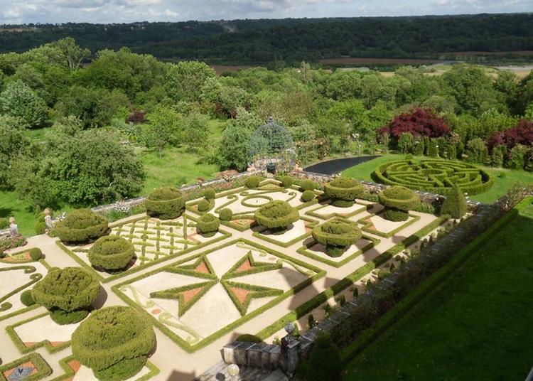 Découverte Des Jardins Et Dépendances Du Château De Viven