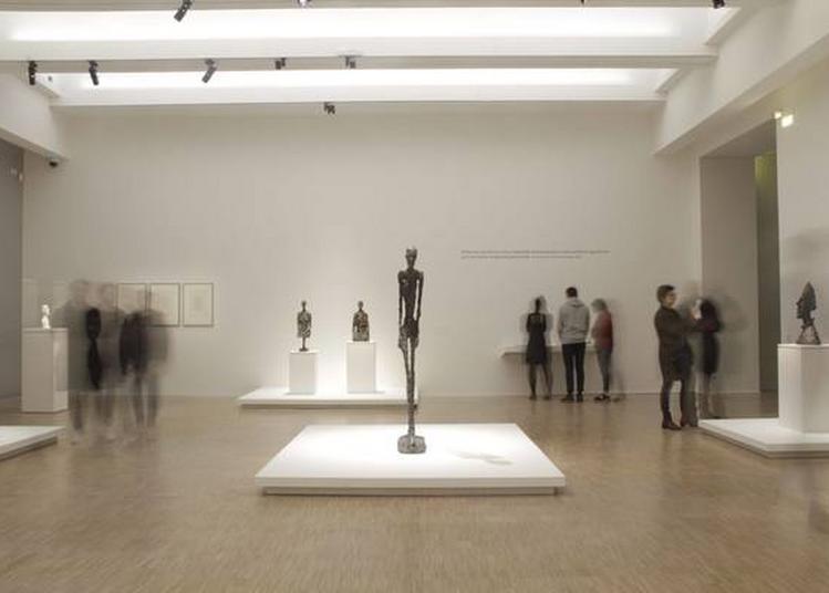 Découverte Des Sculptures D'alberto Giacometti à La Lampe Torche ! à Villeneuve d'Ascq