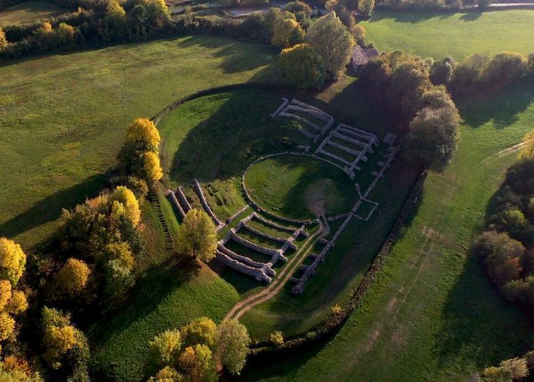 Découverte Des Vestiges D'une Ville Gallo-romaine à Sanxay