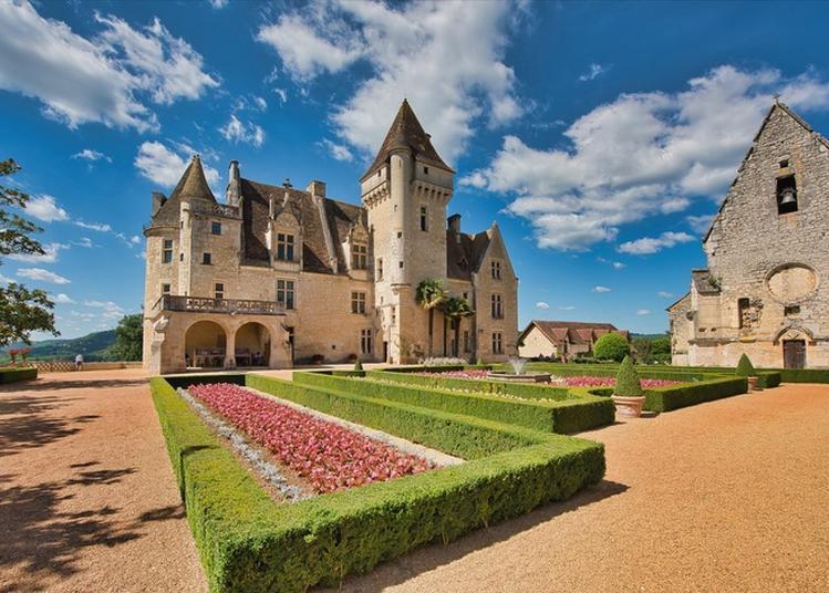 Découverte Du Château De Joséphine Baker ! à Castelnaud la Chapelle