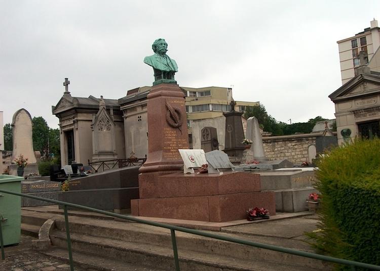 Découverte Du Cimetière Communal Ancien à Ivry sur Seine