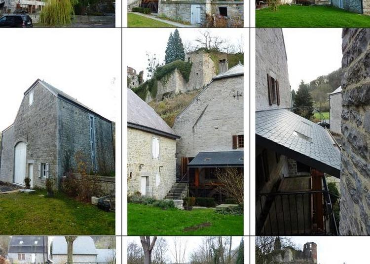Découverte Du Moulin Banal Au Pied Du Château, Sur Le Ru Des Chabottes Ou De La Jonquière à Hierges
