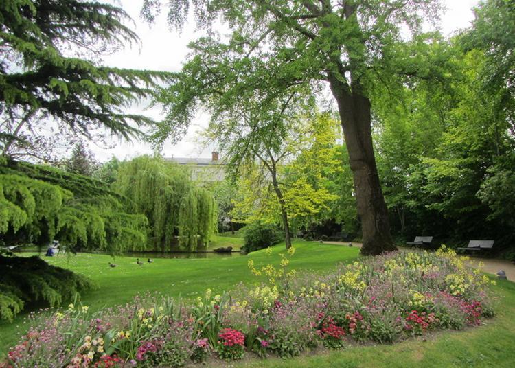 Découverte Du Parc De L'hôtel De Ville D'epernay à Epernay