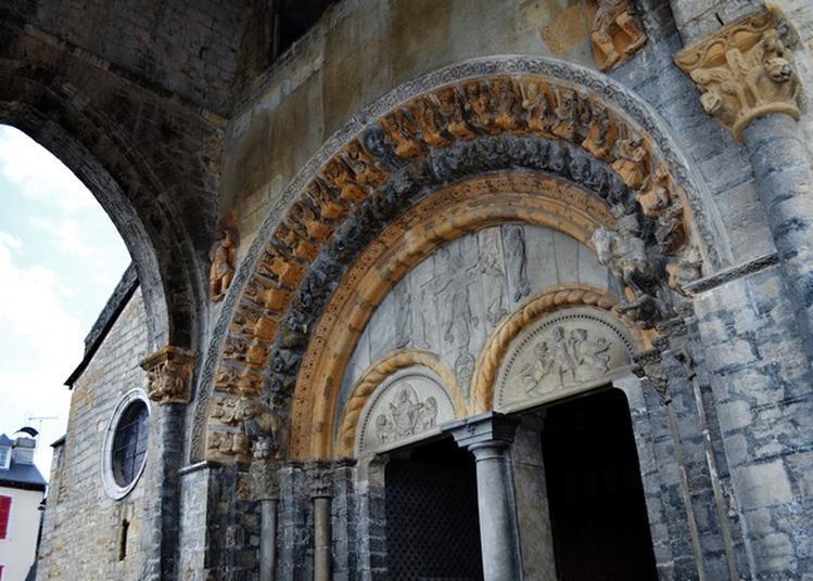 Découverte Du Portail Roman De La Cathédrale Sainte-marie à Oloron sainte Marie