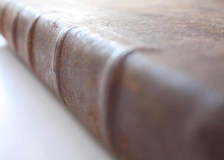Découverte Du Travail D'un Artisan Relieur D'art Et Restaurateur De Livres Anciens à Nevers