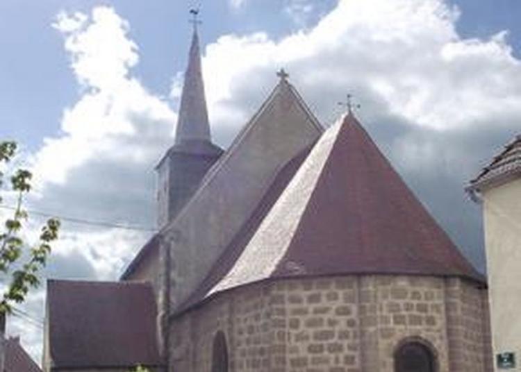 Découverte Libre D'un Petit Bijou Du Patrimoine Creusois à Saint Loup
