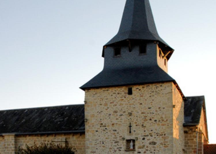 Découverte Libre D'une Des 18 églises Fortifiées Du Limousin ! à Saint Genest sur Roselle