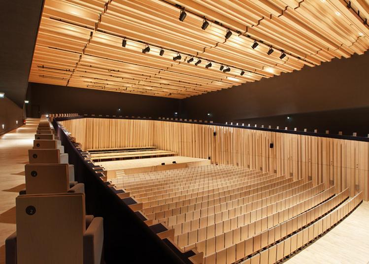 Découverte Sensorielle Du Théâtre-auditorium à Poitiers