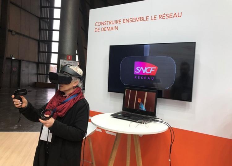 Découverte Sncf : Réseau En Réalité Virtuelle à Lille