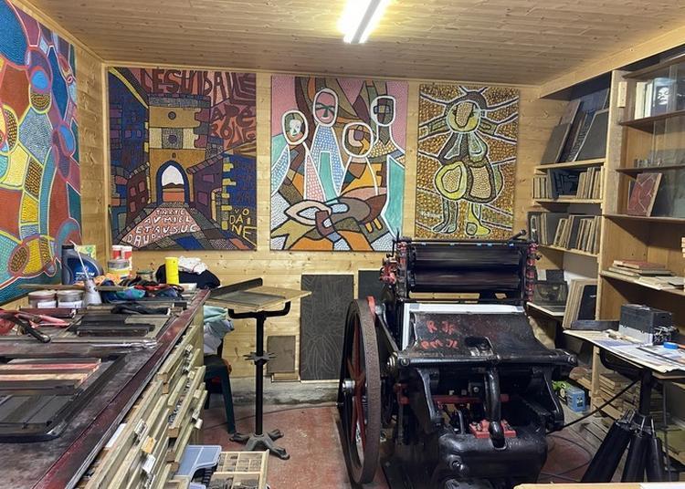 Découvrez L'atelier Typographique De Jean Vodaine Dans Le Cadre Du Centenaire De L'artiste. à Metz