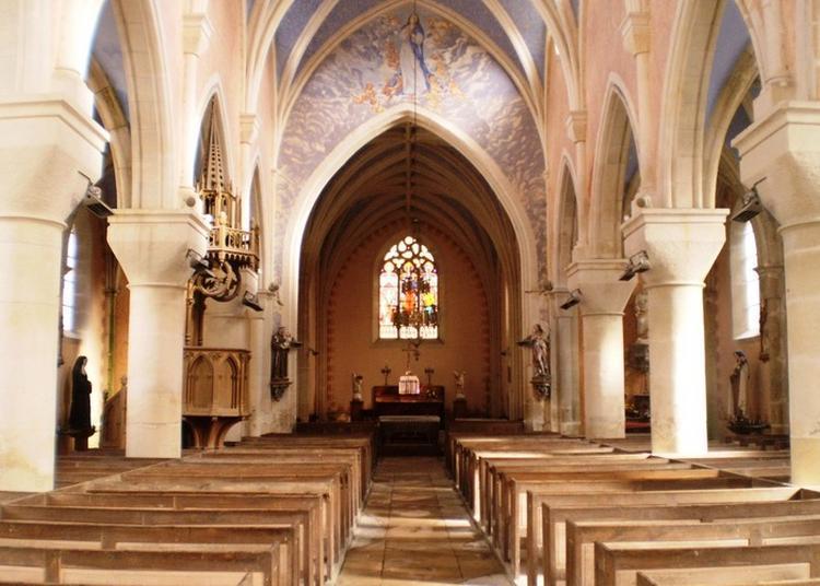 Découvrez L'église Saint-andré ! à La Chapelle saint Andre