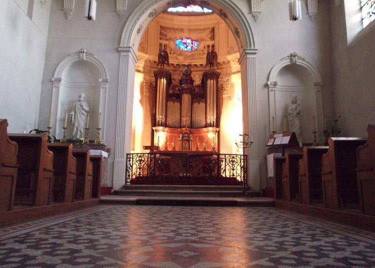 Découvrez La Chapelle Saint-roch Du Centre Psychothérapique De Nancy! à Laxou